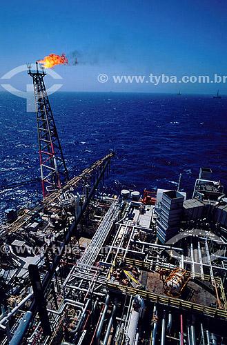 Plataforma de produção de petróleo - Brasil