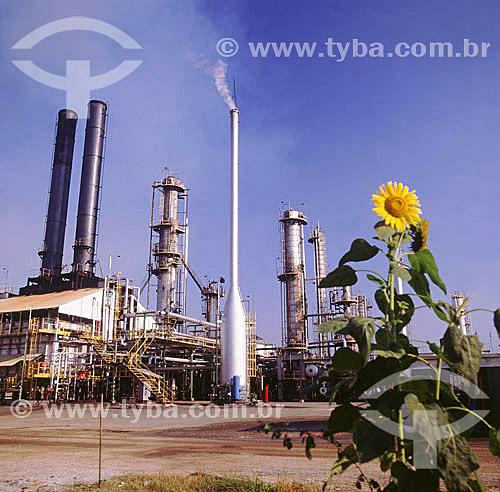 Refinaria Duque de Caxias - Manguinhos - Rio de Janeiro - RJ - Brasil - Data: 1996