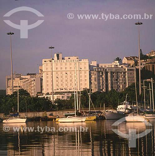 Hotel Glória - Marina da Glória em primeiro plano - Glória - Rio de Janeiro - RJ - Brasil  - Rio de Janeiro - Rio de Janeiro - Brasil