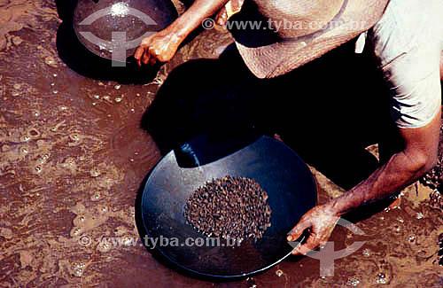Assunto: Garimpo de ouro / Local: Serra Pelada - PA - Brasil / Data: 1991