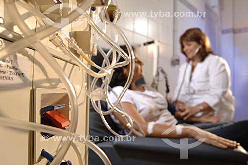 Processo de Hemodiálise - Nefroclin - Rio de Janeiro - RJ - Brasil -Data: 21/11/2006