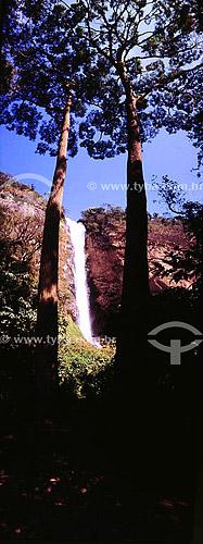Rio Paquequer - Cascata Conde D`Eu - Sumidouro - RJ - Brasil  - Sumidouro - Rio de Janeiro - Brasil