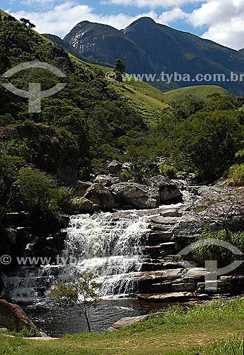Cachoeira dos Frades na estrada Teresópolis - Friburgo, região serrana do Rio de Janeiro - Brasil / Data: 2007
