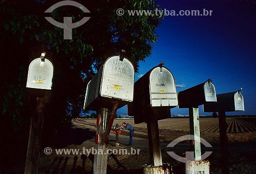 Caixas de correio nos Estados Unidos - América do Norte