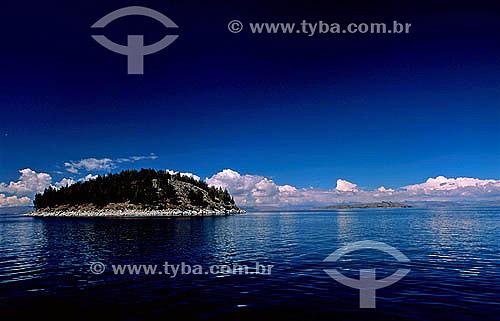 Ilha no Lago Titicaca - Bolívia