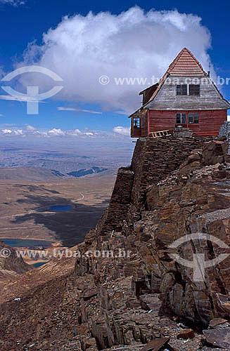 Monte Chacaltaya - Mais alta estação de esqui do mundo (5.395m) - Bolivia