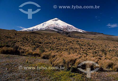 Vulcão Cotopaxi - Equador - 1989