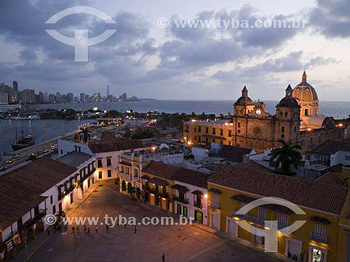 Centro Histórico de Cartagena - ColômbiaFev/2007