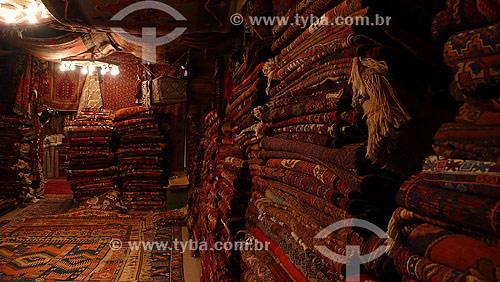 Loja de tapetes - Tapeçaria - Goreme - Capadócia - Turquia - Outubro de 2007