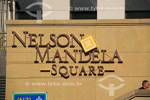 Shopping Nelson Mandela Square - Parte nova da cidade - Joanesburgo - África do Sul - Agosto de 2006