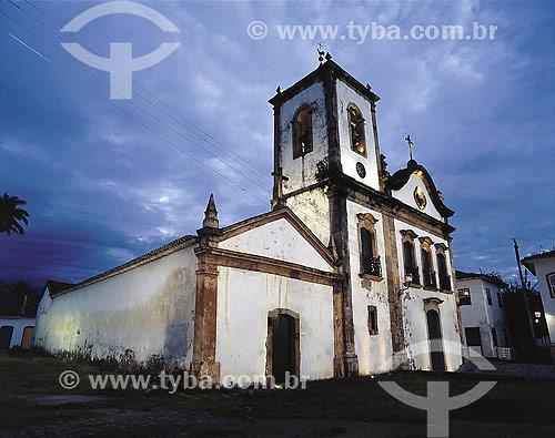 Igreja de Santa Rita de Cássia - Paraty - RJ - Brasil - 2006  - Paraty - Rio de Janeiro - Brasil