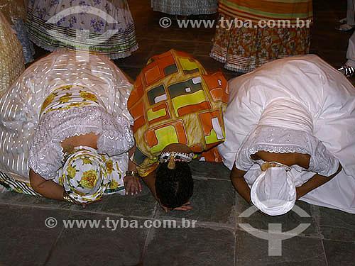 Candomblé - Centro Espírita Gisele Cossard Binon - Culto para Iemanjá - Religião - Rio de Janeiro - RJ - Brasil - fevereiro de 2007  - Rio de Janeiro - Rio de Janeiro - Brasil