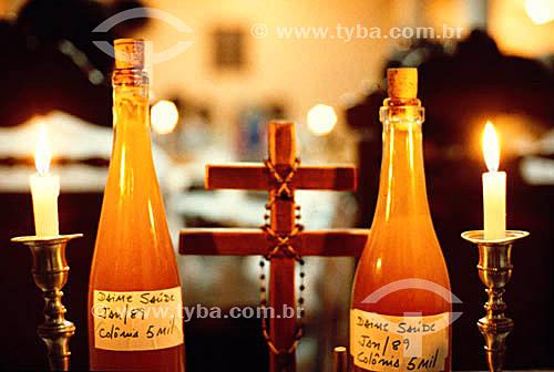 Chá de ayahuasca- Religião do Santo Daime