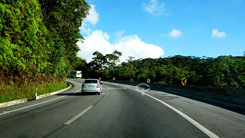 Trecho da rodovia BR-040 - Rio-Juiz de Fora - RJ - BrasilAbr/2007  - Rio de Janeiro - Brasil
