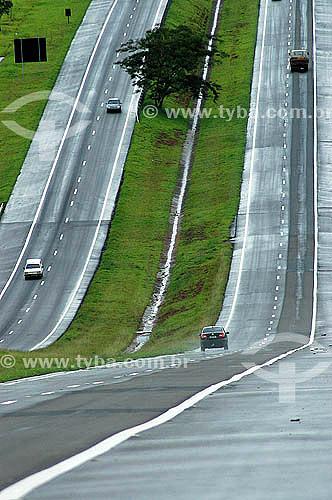 Rodovia ou estrada Euclides da Cunha - São Paulo - Brasil  - São Paulo - São Paulo - Brasil