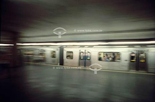 Metrô do Rio de Janeiro - RJ - Brasil  - Rio de Janeiro - Rio de Janeiro - Brasil