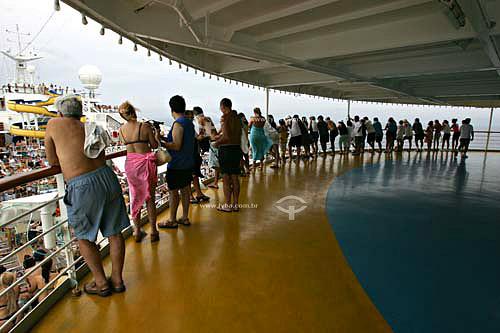 Transatlântico Costa Fortuna - Navio onde foram realizados shows do Roberto Carlos Abr/2007