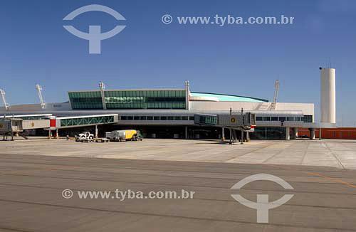 Aeroporto Internacional Zumbi dos Palmares - Maceió - Alagoas - Brasil - Março 2006  - Maceió - Alagoas - Brasil