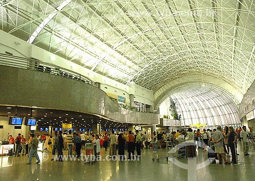 Assunto: Aeroporto de Fortaleza / Local: CE - Brasil / Data: 07-2004
