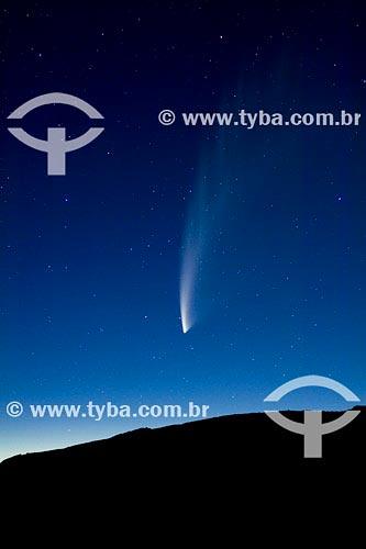 Assunto: Cometa McNaught, vista na PatagôniaPaís: Argentina Data: 24/01/2007