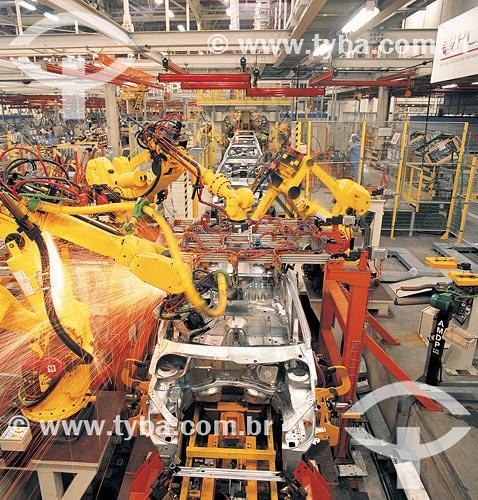 Assunto: Fabrica da Peugeot-Citroen em Porto Real / Local: Rio de Janeiro - RJ / Data: 14/09/2007