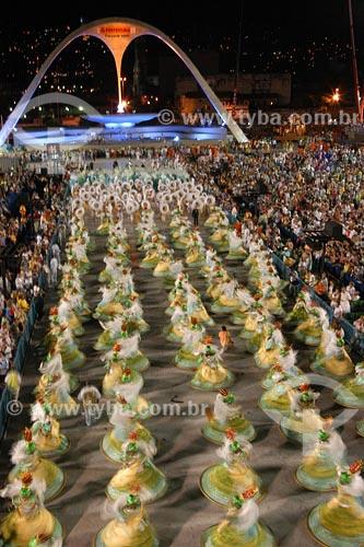 Assunto: Alegoría da escola Império Serrano no domingo de carnavalLocal: Sambódromo - Rio de Janeiro - RJData: Carnaval 2005
