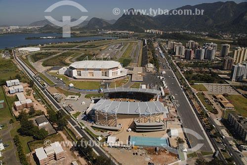 Assunto: Arena Multiuso e Parque Aquático Maria LenkLocal: Barra da Tijuca - Rio de Janeiro - RJData: 05/08/2006