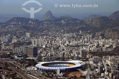 Assunto: Vista aérea do estádio do MaracanãLocal: Rio de Janeiro - RJData: 05/08/2006