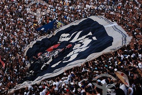 Assunto: Torcida do Corinthians em jogo no estádio Morumbi / Local: São Paulo - SP / Data: 03/2008