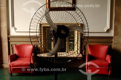 Assunto: poltronas e ventilador no Palácio ItamaratyLocal: Bairro Centro - Rio de Janeiro - RJ - BrasilData: 2008