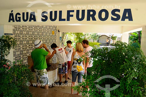 Assunto: Raposo - Parque Hidromineral Soledade - água sulfurosa. - Noroeste fluminense - RJ / Data: 06/2008