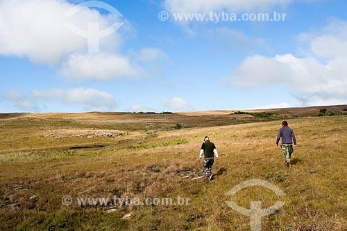 Assunto: Trekking na Serra da Boa Vista / Local: Serra da Boa Vista, no município de Rancho Queimado - SC - Brasil / Data: 14/06/2008