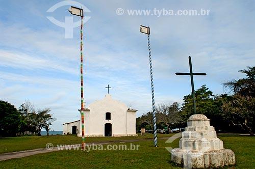 Assunto: Igreja São João Batista / Local: Quadrado - Trancoso - BA / Data: novembro 2007