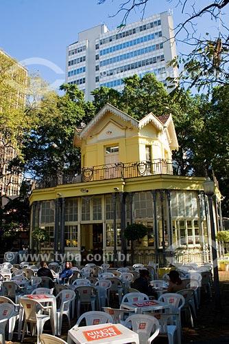 Assunto: Chalé da Praça XV / Local: Porto Alegre - RS - Brasil / Data: 05/07/2008