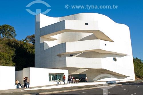 Assunto: Sede da Fundação Iberê Camargo, inaugurada em maio de 2008 / Local: Porto Alegre - RS - Brasil / Data: 06/07/2008
