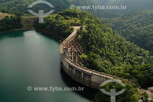 Assunto: Usina hidroelétrica Fontes Novas / Local: reservatório de Lajes - Piraí - RJ/ Data: fevereiro 2008,