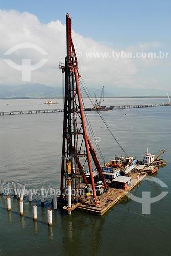 Assunto: Construção de terminal no Porto de Sepetiba / Local: Itaguaí - RJ / Data: fevereiro 2008