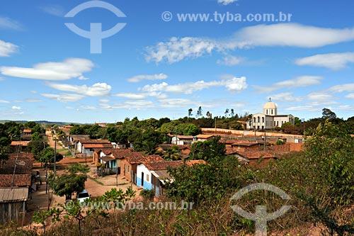Assunto: Vista da cidade com Igreja Rainha da Paz ao fundo /  Local: Vila Ildemar - Açailândia - MA / Data: 08/2008