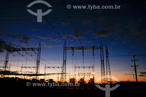 Assunto: Sub-estação de energia de Imperatriz / Local: Eletronorte - MA / Data: 08/2008