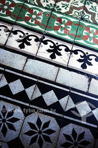 Assunto: Piso da Paróquia Matriz Santa Teresa D` Ávila, mais conhecida com Capela Santa Teresinha (monumento histórico) / Local: Imperatriz - MA / Data: 08/2008