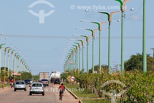 Assunto: Avenida Nagib Haickel /  Local: Igarapé do Meio - MA / Data: 08/2008