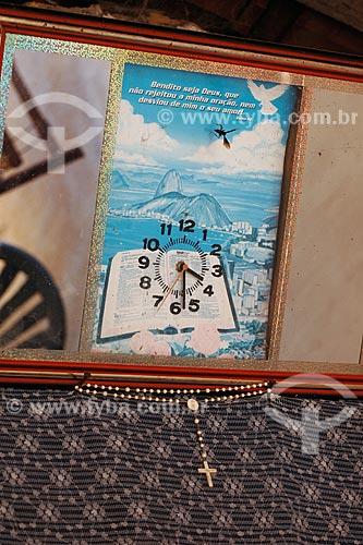 Assunto: Relógio em quadro / Local: Tufilândia - MA / Data: 08/2008