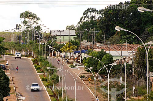Assunto: Ruas em Cidelândia / Local: Cidelândia - MA / Data: 08/2008