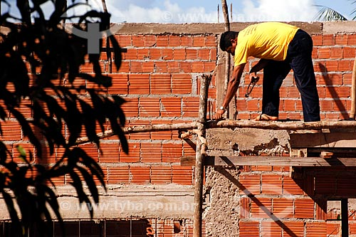 Assunto: Construção civil em regime de mutirão / Local: Cidelândia - MA / Data: 08/2008