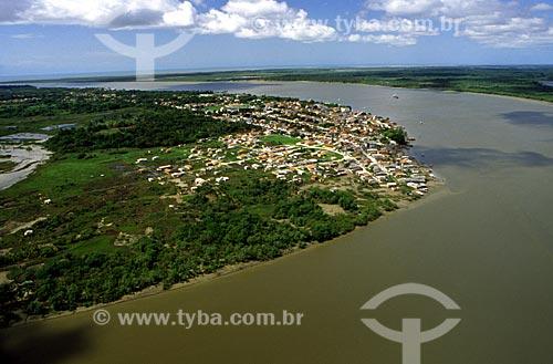 Assunto: Foto aérea de Caravelas / Local: Caravelas - BA / Data: 08/2008