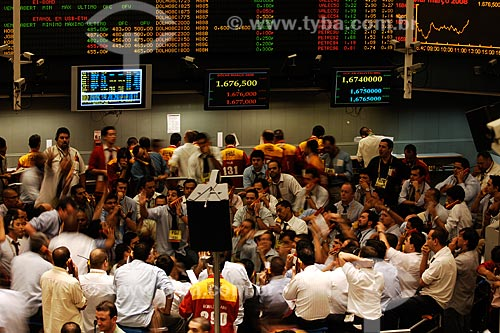 Assunto: Bolsa de valores de São Paulo (BOVESPA) / Local: São Paulo - SP / Data: 09/2008