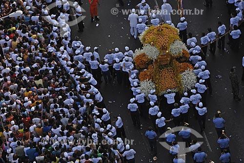 Assunto: Multidão na Procissão do Círio de Nazaré / Local: Belém (PA) / Data: 12 de Outubro de 2008