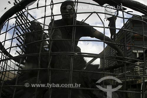 Assunto: Carvoeiro trabalhando / Local: Pará (PA) / Data: 14 de Maio de 2004
