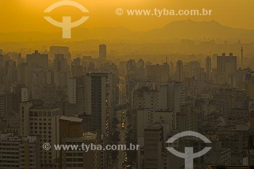Assunto: Vista de São Paulo em dia de Inversão Térmica / Local: São Paulo - SP / Data: Junho de 2006