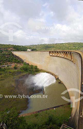 Assunto: Barragem da represa Jozini no Rio Pongola / Local: Kwazulu Natal - África do Sul / Data: 13 de Março de 2007